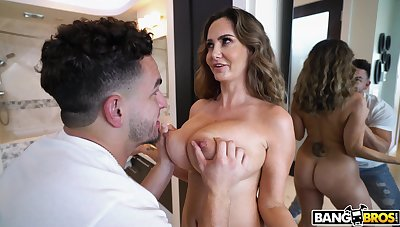 MILF experienced deepest missionary involving the stepson