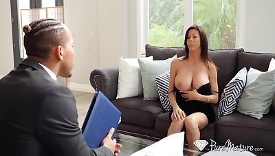 Hot student's old woman Alexis Fawx spreads legs wide open and teases with yummy pussy upskirt