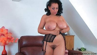 Trimmed pussy mature Danica Collins drops will not hear of dress to play