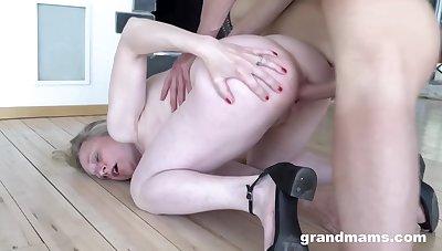 Granny Wants A Clean Long Cock