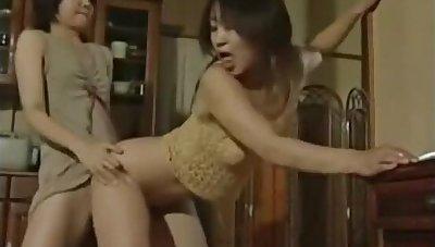Japanese Lesbian rendered helpless