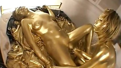 GOLDEN paint Statute 6 Lesbian