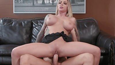 Insane scenes of ravishing sex for busty Karma Rx