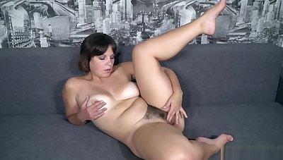She So Much Loves Masturbate Victorian Pussy In Bath