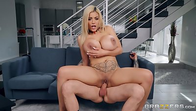 Married Latina whore gets the young man's dick in both holes