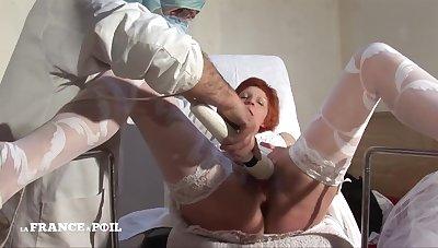 Hairy Mature Bride Gets Her Arse Pound Hard Fuck