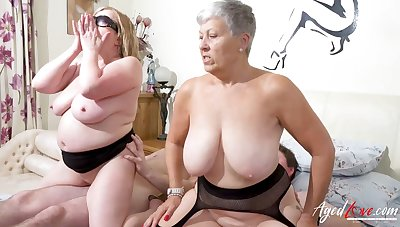 AgedLovE Busty British Matures Immutable Group Mating