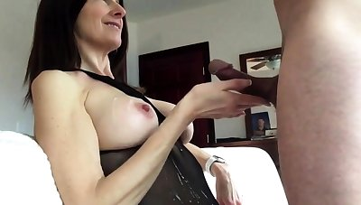 milf cum shot at
