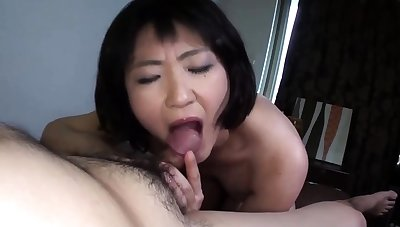 Blonde amateur milf does anal on pov camera 21